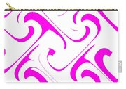 Pink Swirls Carry-all Pouch