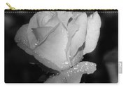 Pink Tea Rose 02 - Infrared Carry-all Pouch