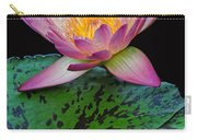 Pink Tipped Beauty Carry-all Pouch