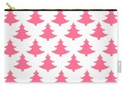 Pink Trees Carry-all Pouch