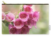 Pink Trumpet Carry-all Pouch by Kim Hojnacki