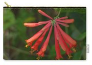 Pink Tube Flower Carry-all Pouch