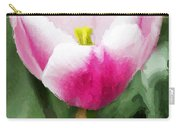 Pink Tulip - A Digital Painting Carry-all Pouch