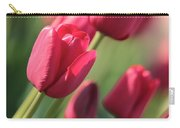 Pink Tulip Dream Birthday Card Carry-all Pouch