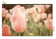 Pink Tulip Field Carry-all Pouch