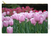 Pink Tulip Garden Carry-all Pouch