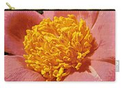 Pink Tulip Peony Carry-all Pouch