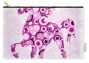 Pink Unicorn - Animal Art Carry-all Pouch