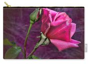 Pink Velvet Carry-all Pouch