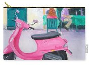 Pink Vespa Carry-all Pouch
