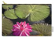 Pink Water Lily II Carry-all Pouch