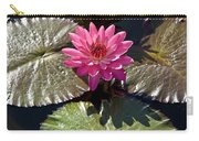 Pink Water Lily IIi Carry-all Pouch by Heiko Koehrer-Wagner