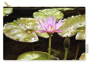 A Waterlily Reflection Carry-all Pouch