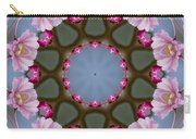 Pink Weeping Cherry Blossom Kaleidoscope Carry-all Pouch
