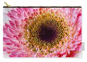Pink White Daisy Carry-all Pouch