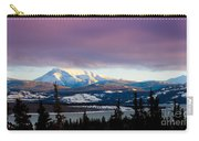 Pink Winter Clouds Carry-all Pouch