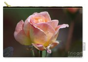 Pink Yellow Rose 01 Carry-all Pouch