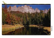 Pinnacle Buttes On Brooks Lake Creek Rocky Mountains Carry-all Pouch
