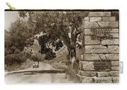 Pinnacles National Monument California Circa 1946 Carry-all Pouch