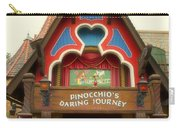 Pinocchio Daring Journey Fantasyland Disneyland Carry-all Pouch