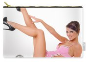 Pinup Girl In Pink Carry-all Pouch