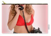 Pinup Girl On The Phone Carry-all Pouch