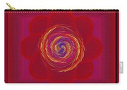 Pinwheeled Petals Carry-all Pouch