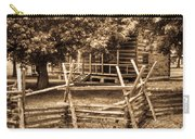 Pioneer Cabin In Sepia 1 Carry-all Pouch