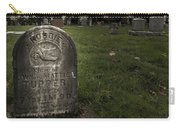 Pioneer Grave Carry-all Pouch by Jean Noren