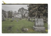 Pioneer Resting Place Carry-all Pouch by Jean Noren