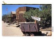 Pioneer Town Califoronia Carry-all Pouch