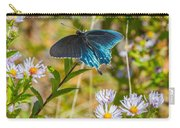 Pipevine Swallowtail On Asters Carry-all Pouch