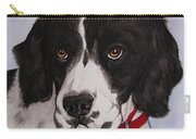 Pippy The Springer Spaniel Carry-all Pouch