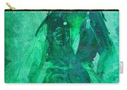 Pirate Johnny Depp - Shades Of Caribbean Green Carry-all Pouch