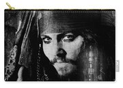 Pirate Life - Black And White Carry-all Pouch