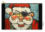 Pirate Santa Poster Carry-all Pouch