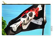 Pirate Ship Flag Of The Skull And Crossbones Carry-all Pouch