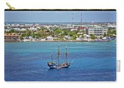 Pirate Ship In Cozumel Carry-all Pouch