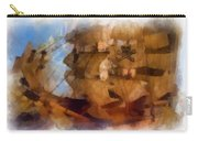 Pirate Ship Photo Art Carry-all Pouch