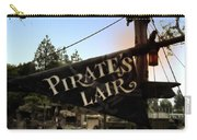 Pirates Lair Signage Frontierland Disneyland Carry-all Pouch