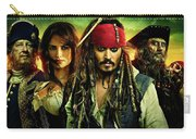 Pirates Of The Caribbean Stranger Tides Carry-all Pouch