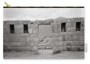 Pisac Architecture Carry-all Pouch