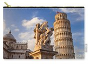 Pisa's Leaning Tower Carry-all Pouch by Brian Jannsen