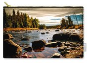 Piscataquis River Dover-foxcroft Maine Carry-all Pouch