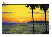 Pismo Beach California Sunset Carry-all Pouch