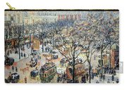 Pissarro's Boulevard Des Italiens In Morning Sunlight Carry-all Pouch