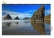 Pistol River Sea Stacks Carry-all Pouch by Adam Jewell