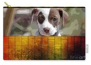 Pitbull Puppy Carry-all Pouch