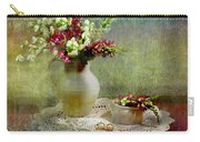 Pitcher Of Snapdragons Carry-all Pouch by Diana Angstadt