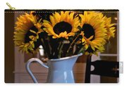 Pitcher Of Sunflowers Carry-all Pouch